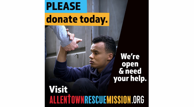 The Allentown Rescue Mission Thanks Their Donors