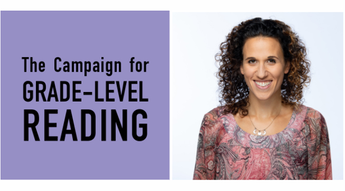Lehigh Valley Reads' Angela Zanelli Presents on The Campaign for Grade-Level Reading's Virtual Panel