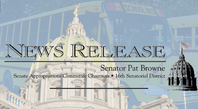 Governor Wolf Signs Senators Browne and Bartolotta's Bill to Strengthen School Bus Stop Arm Law