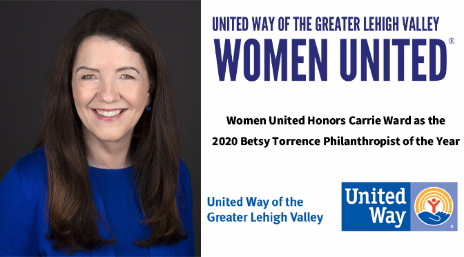 Women United Honors Carrie Ward as the  2020 Betsy Torrence Philanthropist of the Year