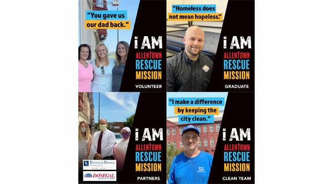 Allentown Rescue Mission's September Billboards
