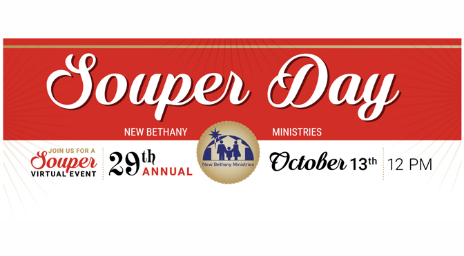 New Bethany Ministries to Host Virtual Souper Day