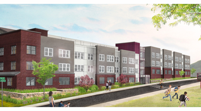 New South Side Easton workforce housing development, The Mill at Easton, has groundbreaking event