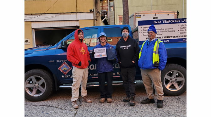Allentown Rescue Mission's Clean Team Worker of the Month – Matt M.