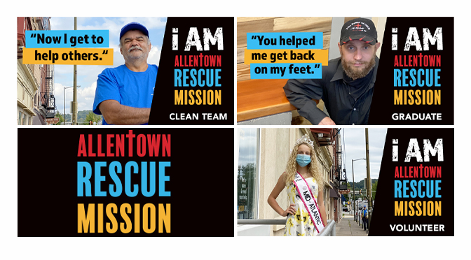Allentown Rescue Mission's November Billboards