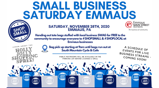 Emmaus Main Street Partners Gearing Up for Small Business Saturday!