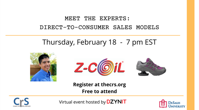 Andres Gallegos, CEO of Z-CoiL, will share valuable lessons about how he grew his direct-to-consumer business.