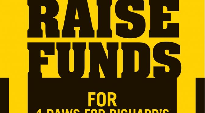 Buffalo Wild Wings Voucher for Richard's Service dog travel Expenses
