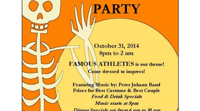 Jack Callaghan's Ale House Hosting Annual Halloween Party October 31