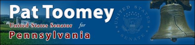Toomey's Take: From Lehighton, Pennsylvania to 1600 Pennsylvania,  By U.S. Senator Pat Toomey