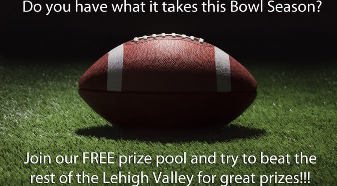 Join Our Free College Bowl Pool For A Chance To Win Free Prizes!