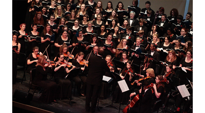 High School for the Arts Winter Concert Series will feature performance of John Rutter's Magnificat