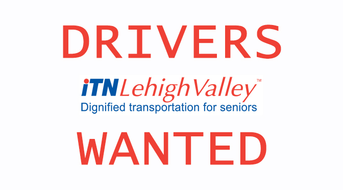 ITNLehigh Valley is looking for Part Time Drivers