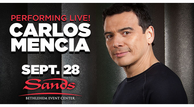 Interview with Carlos Mencia – LAUGHIN' AND LIVIN'  | Interview By: Janel Spiegel