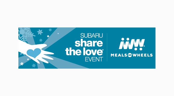 Meals on Wheels of the Greater Lehigh Valley joins  Meals on Wheels America and Subaru of America, Inc. in Sharing the Love this Holiday Season
