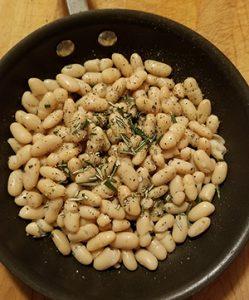 white bean saute.Pic 2