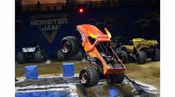 IT'S A MONSTER TRUCK WIN FOR ARMANDO CASTO (EL TORO LOCO) OPENING NIGHT AT THE PPL CENTER – by Diane Fleischman