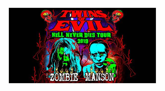 ROB ZOMBIE AND MARILYN MANSON CONFIRM THEIR NOTORIOUS TWINS OF EVIL TOUR COMING TO PPL CENTER ON JULY 10
