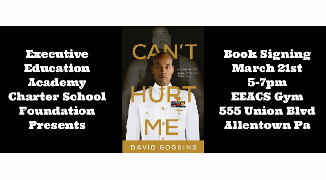 Over 1,000 Expected to Line Up for Best-Selling Author David Goggins at EEACS Appearance in Allentown