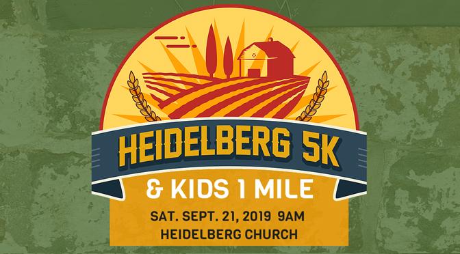 2nd ANNUAL HEIDELBERG 5K INCLUDES KIDS 1 MILE
