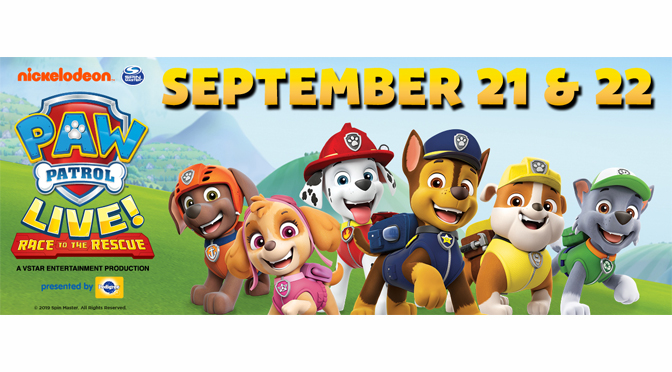 """PAW PATROL LIVE! """"RACE TO THE RESCUE"""" TAKES CENTER STAGE IN THE LEHIGH VALLEY"""