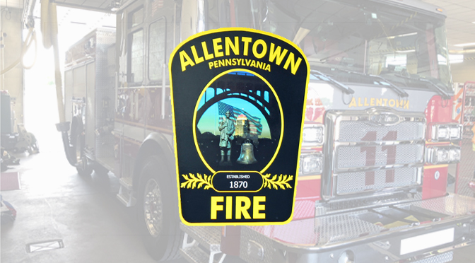 ALLENTOWN FIRE DEPARTMENT WELCOMES NEW FIREFIGHTERS