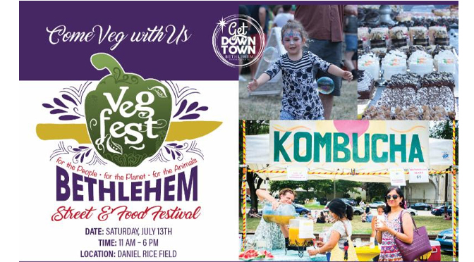 Vegans' Excitement Grows as Bethlehem's  9th Annual VegFest Approaches