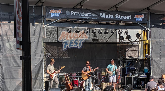 Copper Fields at Musikfest       Review by Victoria Durgin