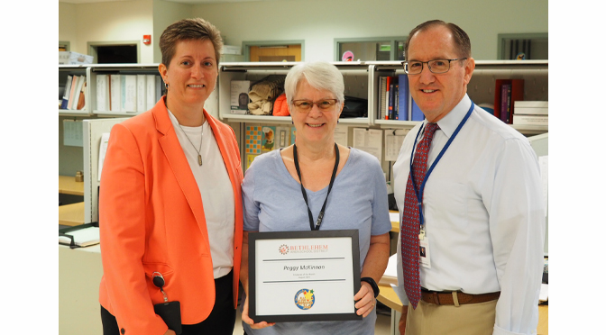 BASD ANNOUNCES EMPLOYEE OF THE MONTH – PEGGY MCKINNON