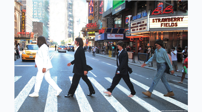 Renowned Beatles Tribute 'Strawberry Fields' Highlights 2nd Songs4Sight Benefit