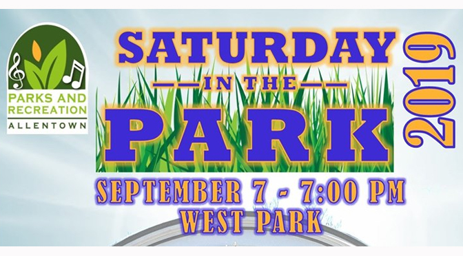 SATURDAY IN THE PARK SERIES WRAPS SEPTEMBER 7