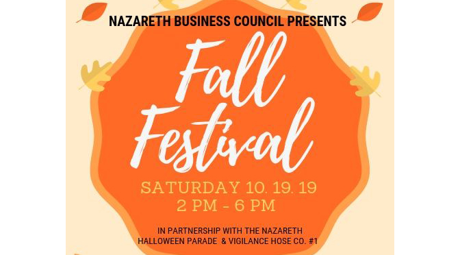 FALL into love with Nazareth during our inaugural Fall Festival