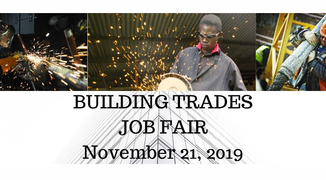 Schlossberg, Schweyer and McNeill to Host Building Trades Job Fair