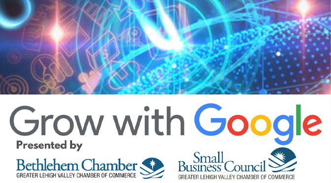 Google Speaker to teach Bethlehem Businesses Growth at Chamber Event.