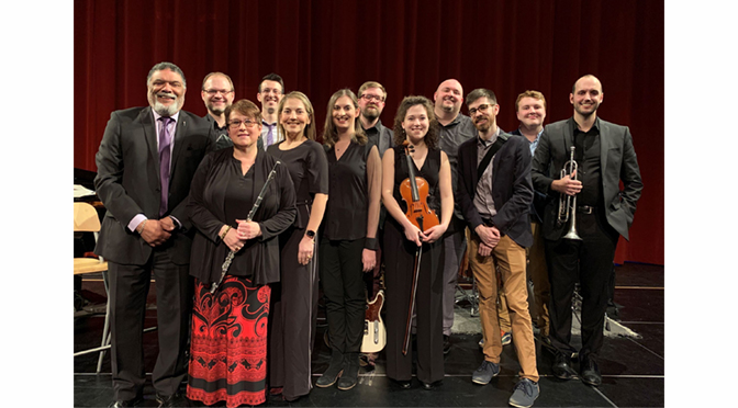 Lehigh Valley Charter High School for the Arts' tenth-annual Music Faculty Recital showcased an impressive roster of accomplished Professional Musicians