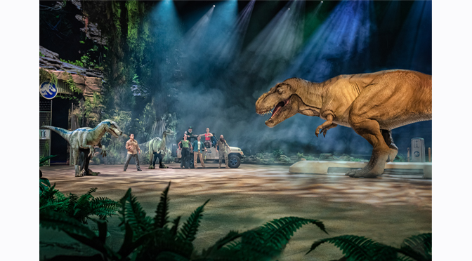 TICKETS ON SALE NOW FOR JURASSIC WORLD LIVE TOUR – AN UNPARALLELED AND THRILLING LIVE ARENA EXPERIENCE