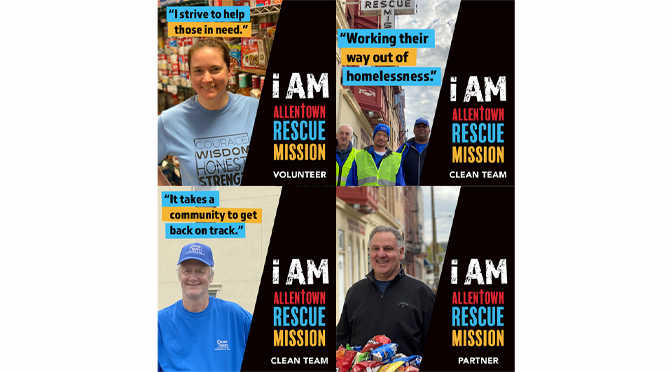 Allentown Rescue Mission's July Billboards