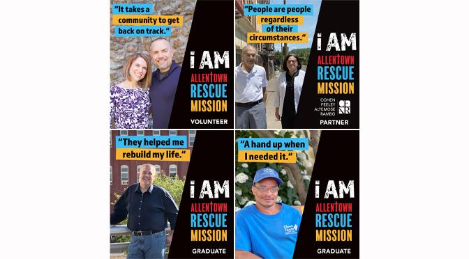 Allentown Rescue Mission's August Billboards