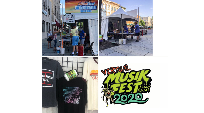 ArtsQuest Offering Musikfest Merchandise in Historic District During Festival