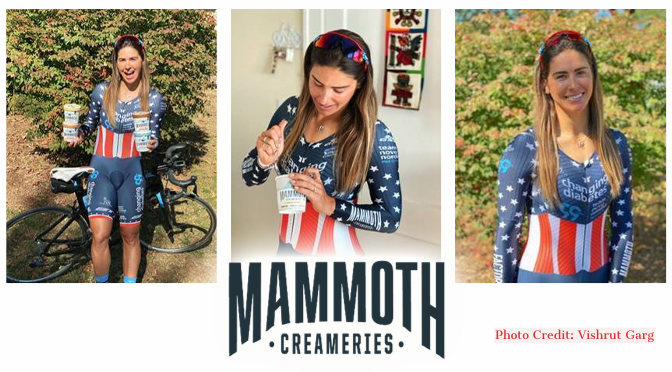 Penn State Graduate, Allentown Resident and Olympic Hopeful Mandy Marquardt Adds Sponsor Mammoth Creameries