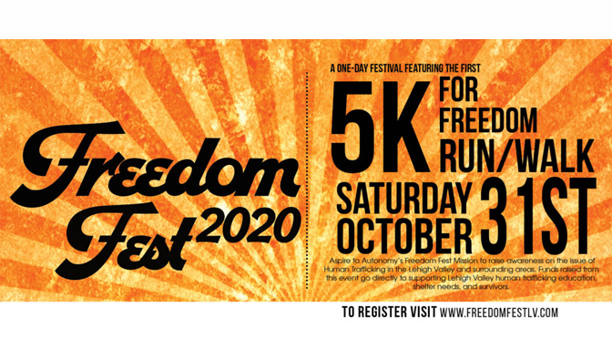 ASPIRE FREEDOM FEST 5K HAS GONE VIRTUAL THIS MONTH