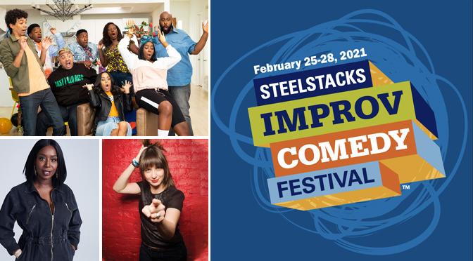 ARTSQUEST TO PRODUCE 8th ANNUAL STEELSTACKS IMPROV COMEDY FESTIVAL
