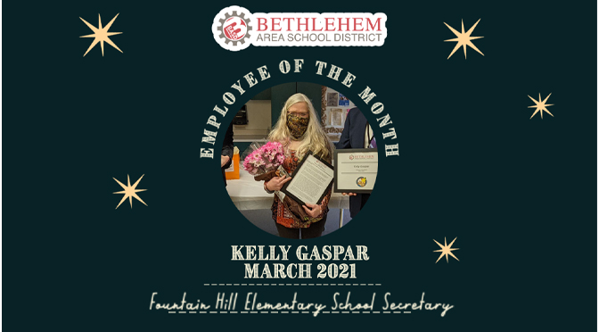 BASD ANNOUNCES EMPLOYEE OF THE MONTH – Kelly Gaspar