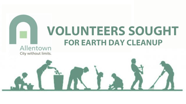 VOLUNTEERS SOUGHT FOR EARTH DAY CLEANUP