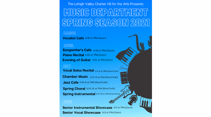 Lehigh Valley Charter High School for the Arts May Music Event Series