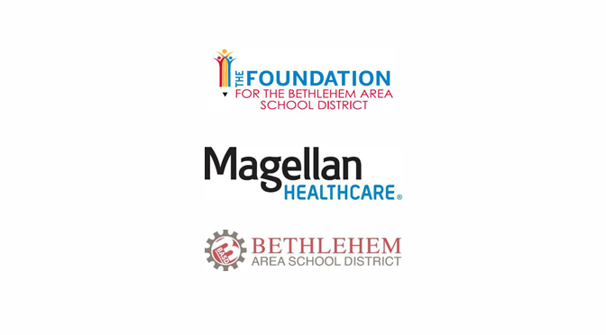 The Foundation for the Bethlehem Area School District receives donation from the Magellan Cares Foundation to support Liberty High School's Wellness Center