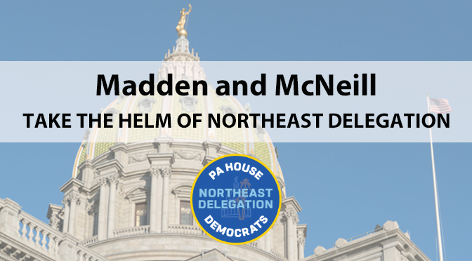 Madden and McNeill take the helm of Northeast Delegation