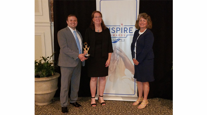 The Neffs National Bank awarded Inspire Award in recognition of assisting community with PPP Loans