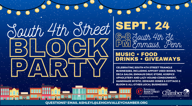 Emmaus South Fourth Street Block Party!