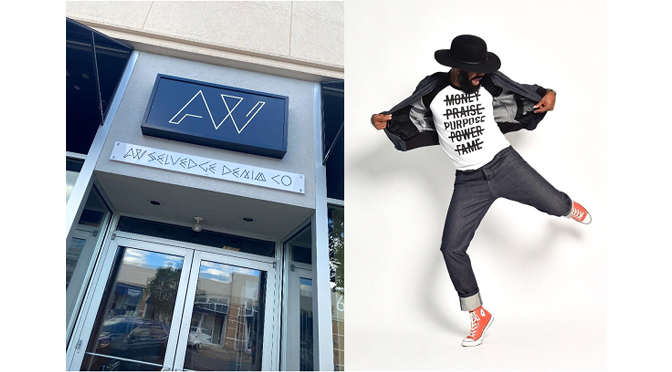 ALL WEATHER SELVEDGE DENIM CO. (AW) GRAND OPENING RIBBON CUTTING AT THE PROMENADE SHOPS AT SAUCON VALLEY!